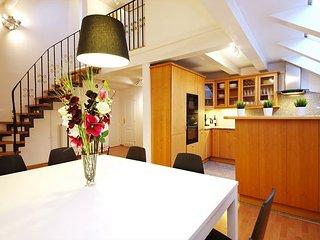 IRIS duplex 4 BR - 4min walk from Charles Bridge - Prague vacation rentals