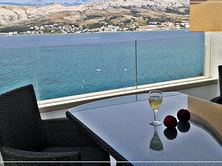 """Penthouse with sea view """"Bouvier Green"""" - Pag vacation rentals"""
