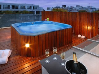 SPECTACULAR PRIVATE ROOFTOP W/ JACUZZI (PT4) 2 BEDROOMS / 1.5 BATH - Buenos Aires vacation rentals