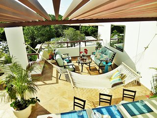 Elegant TAO Inspired Tropical Penthouse Paradise - Akumal vacation rentals