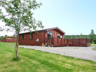 WILDCAT LODGE, log cabin, hot tub, pet-friendly, Newtonmore, Ref 939095 - Newtonmore vacation rentals