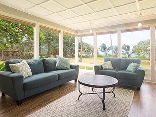 Hale Kekela Nui-6 BR,BeachFront, Gameroom Specials - Laie vacation rentals