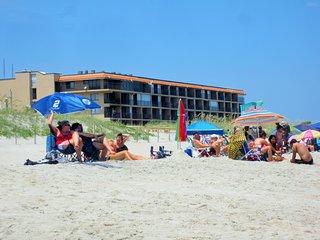 Cabana Unit 104 - Oceanfront 1 Bedroom Condo - Carolina Beach vacation rentals