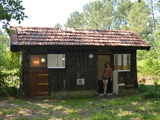 1 bedroom Cabin with Internet Access in Onesse-et-Laharie - Onesse-et-Laharie vacation rentals