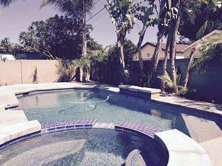 Sun Swim Getaway!  Pool + Wifi + Game Room + BBQ! - Anaheim vacation rentals