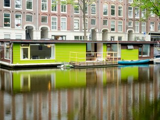 Romantic Oud West Canal 2 BR Houseboat - Amsterdam vacation rentals