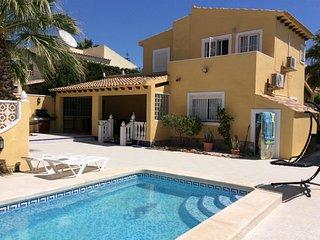 4 bed detached villa with 2 private pools in villa - San Miguel de Salinas vacation rentals