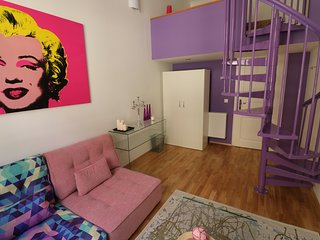 The Purple Room - Cool Pads in Budapest - Budapest vacation rentals