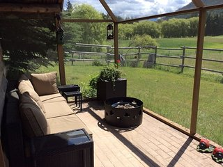 Red Wing Acre's Heritage Cabin - Enderby vacation rentals