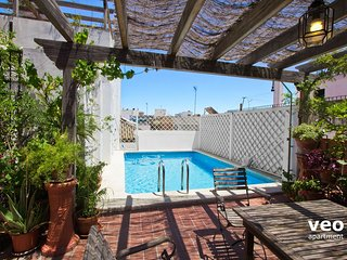 Miguel Terrace | Large terrace and private pool - Seville vacation rentals