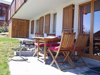 Two-bedroom apartment with private garden - Leysin vacation rentals