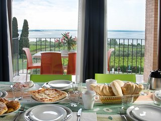 CorteFerrari:2Bdr. ELEGANCE,pool, lakeview,balcony - Moniga del Garda vacation rentals