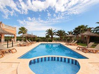 Pool-Finca Villa Valentina I - Ses Salines vacation rentals