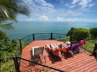 Private Dominical Hideaway w/ 180 Ocean Sunsets 3b - Ballena vacation rentals