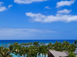 Ocean view/beach front upgraded condo at Ilikai - Honolulu vacation rentals