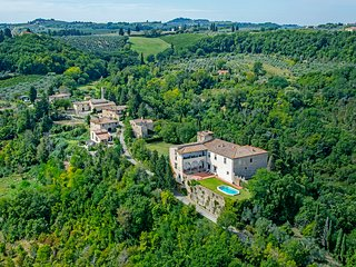 Castle in Chianti with swimming pool near Florence - San Casciano in Val di Pesa vacation rentals