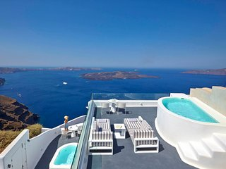 Blue Villas |Ariadne Suite | Private ,caldera view - Imerovigli vacation rentals