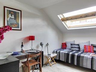 S10104 - Studio 1 personne Bonne Nouvelle - Poisso - 18th Arrondissement Butte-Montmartre vacation rentals