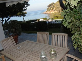 Beachfront maisonette with pool, private compound - Vouliagmeni vacation rentals