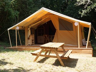 Nice 2 bedroom Tented camp in Le Champ-Saint-Pere - Le Champ-Saint-Pere vacation rentals
