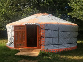 1 bedroom Yurt with Parking in Le Champ-Saint-Pere - Le Champ-Saint-Pere vacation rentals