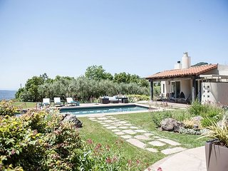 Lush Estate Amid Acres of Vineyards—Designer Décor, Gardens, Pool, Cabana - San Francisco vacation rentals