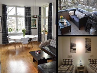 Large bedroom with two single beds or one double. - Oslo vacation rentals