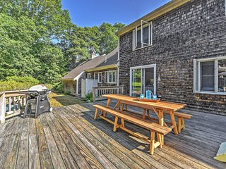 Charming 4BR North Falmouth House w/Fireplace - North Falmouth vacation rentals