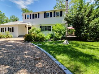 Upscale house with private tennis courts, game room, and plenty of space. - Edgartown vacation rentals