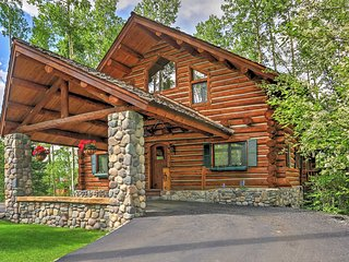 New Listing! Ski-In/Ski-Out 4BR Telluride Log Home w/Wifi, Fireplace, 2 Large Decks, Outdoor Hot Tub & 180 Degree View of San Sofia Mountains - Close to Alpine Village, Skiing, Snowshoeing, Hiking & More! - Telluride vacation rentals