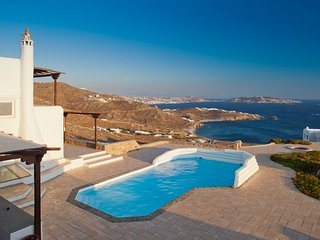 Blue Villas | Sunset | Traditional Villa with view - Mykonos vacation rentals