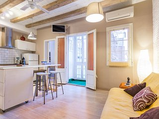 2 BR Charming Flat in Trendy Center - Barcelona vacation rentals