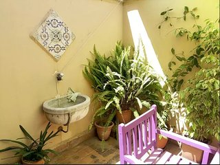 Sunny terrace in colored apartment - Palermo vacation rentals