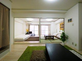 2 bedroom & 1 living room 7mins Shin-Osaka st. pt2 - Osaka vacation rentals