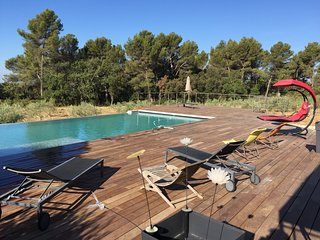 Pet-Friendly 4 Bedroom Villa with a Pool, Between Olive Trees and Lavendar - Puyricard vacation rentals