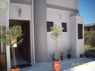 1 bedroom Condo with Housekeeping Included in Agii Apostoli - Agii Apostoli vacation rentals