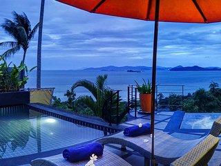 Magnificent Ocean View One Bedroom Villa with Car - Laem Set vacation rentals