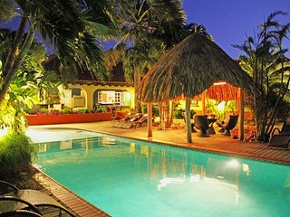 6BR Tropical Paradise, HUGE pool, Jacuzzi, beach area with bar. New listing! - Noord vacation rentals