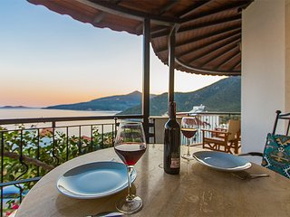 Panoramic Sea View 2 Bed, 2 Bath Apartment- Tepe - Kalkan vacation rentals