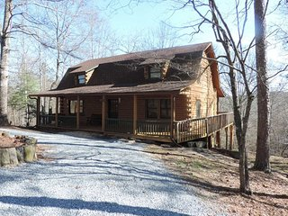 A True Log Cabin with Game Room - Ellijay vacation rentals