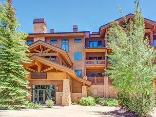 A ski-in/ski-out location, private hot tub, and stunning rustic interior await! - Park City vacation rentals