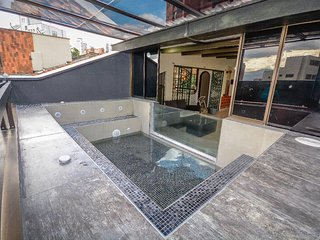 Exclusive penthouse awesome private glass Jacuzzi - Medellin vacation rentals