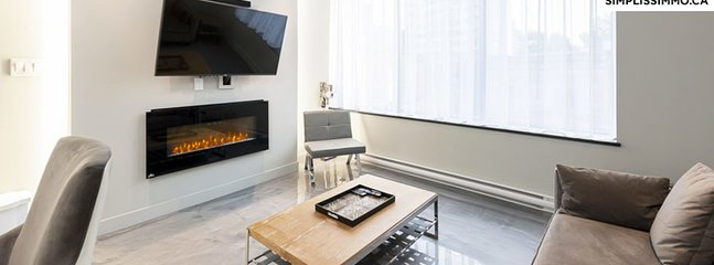 1-Bedroom Loft at Milton Parc Hotel - 1301 - Montreal vacation rentals