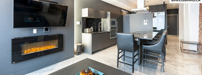 2 Bedroom Loft at Milton Parc Hotel - M1303 - Montreal vacation rentals