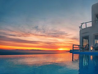 Mykonos  -  Gv - The Paradise Villa  w Heated Pool, Helipad, Tennis  and  9 - Mykonos vacation rentals