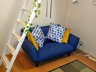 Lovely♡cozy with Hokusai on the loft close to city center. - Nerima vacation rentals