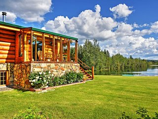 Immaculate 5BR Salcha House w/Private Lake, Guest Cabin & Floatplane Airline Hangar - Incredible Waterfront Location! Near Chena Lakes & Hot Springs! - Salcha vacation rentals