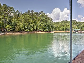 Lakefront 2BR Flowery Branch Cabin w/ Lake Access! Long Term Rental Available, Call For Rates! - Flowery Branch vacation rentals