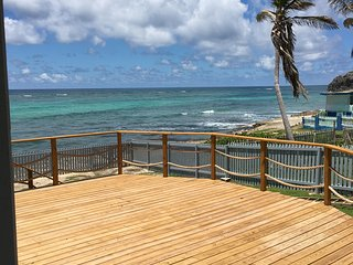 Oceanfront, Cliff Top Pedro's On Sea Cottage - Silver Sands vacation rentals