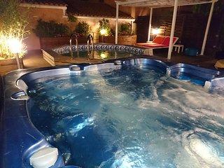 Naturisme La Villa Cap d'Agde jacuzzi piscine - Cap-d'Agde vacation rentals